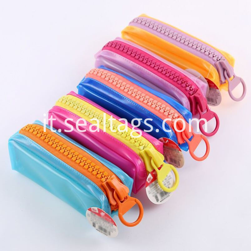 Colorful Swarovski Zippers