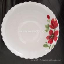 Gros bol de nouilles chinoises en porcelaine