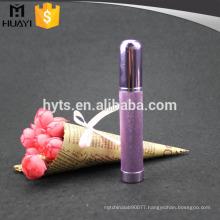 empty aluminium mini travel refillable perfume atomizer