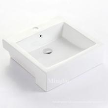 modern new design  bathroom ceramic sink cabinet wash hand basin