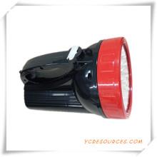LED wiederaufladbare Handlampe für die Förderung
