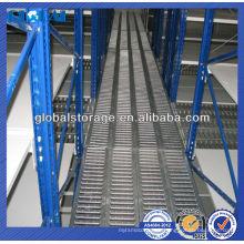 Plate-forme de grille en acier de système de mezzanine d'entrepôt