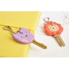 Promotion Silicone Keyrings Printed Silicone Keyring