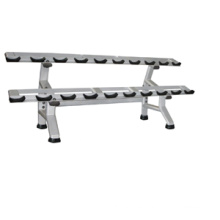Gym Equipment/Fitness Equipment for Dumbbell Rack-Double (FW-1015)