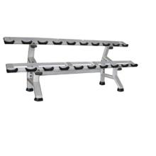 Тренажерный зал фитнес-оборудование Оборудование для гантели стойке двойная (FW-1015)