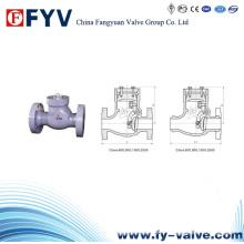 Válvula de retención de oscilación de presión clase 600 ~ 2500