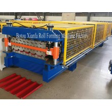 Croatia Double Trapezoidal Roll Forming Machine