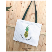 Wholesale Eco-Friendly Cotton Tote Bag Colorful Custom Print Shopping Canvas Tote Bag