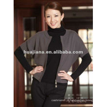 2015 colete de casaco de cashmere da senhora da moda