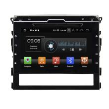 Android 8.0 car audio system for Land Cruiser 2016 with parrot bluetooth
