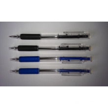 Retractable Stich Ball Pen for School and Office Stationery Supply