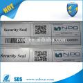 Utilisation commerciale Code QR personnalisé Autocollant Impression et sécurité Garantie Void Paper Sticker