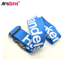 Custom Printed cheap promotion silicone luggage tag loop strap