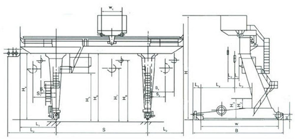 electric-trolley-gantry-crane-drawing-LT