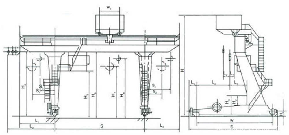 electric-trolley-gantry-crane-drawing-LT