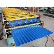 Automatische Walzmaschine Lieferant, Stahl Panel Wellpappe Profil Maschine