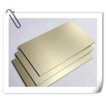 H62 H63 H60 H65 1/2 plaque en laiton dur / plaque en laiton