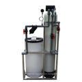 Descalcificador de agua de válvula única Regeneración de resina de catión