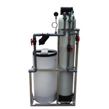 Cation Resin Regeneration Single Valve Water Softener