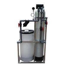 Resíduo de água da válvula da regeneração da resina de Cation único