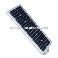 Garantia de comércio livre de poluição luz integrada levou tudo em uma luz solar caixas de luzes 20w