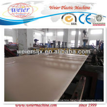 Hot sale wpc crust foam board making plant
