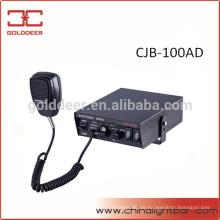 100W Sirene und Lautsprecher Polizei elektronische Sirene für Auto (CJB-100AD)