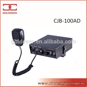 Altavoz y sirena de 100W policía sirena electrónica para el coche (CJB-100AD)