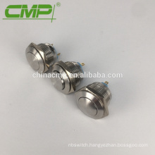 Stainless Steel or Chrome Plated Waterproof Start Stop Button Switch