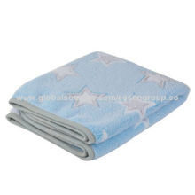 Coral fleece blankets with printing pattern