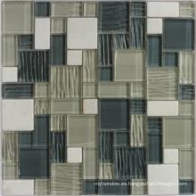 Mosaico de vidrio Crstal para baño y pared