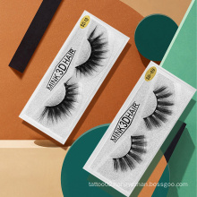 3D Mink Eyelashes Private Label 18mm Mink Lashes Vendor Professional Eye Lashes with Acrylic Clear Lash Cases