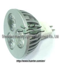DC12v 3w dimmable MR16 llevó la iluminación del punto la fabricación del zhen del shen