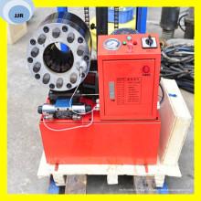 Machine de rabattement de tuyau en caoutchouc de machine de rabattement de tuyau d'eau