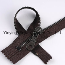 High Quality 8# Black Nickel Metal Zipper for Shoes