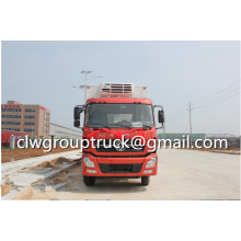 Dongfeng Tianlong 8X4 Refrigerated Van Truck