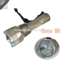 Factory Bulk Sale Многофункциональный алюминиевый регулируемый фокус свет Перезаряжаемый 3W q3 / q5 привели тактический фонарик Обзор