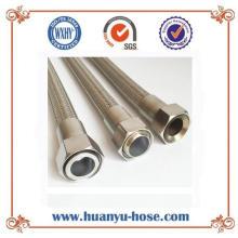 Innengewinde flexibler gewellter Metallschlauch