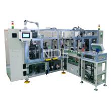 High Effeciency Totalmente automático Quatro estações de trabalho Stator Coil Lacing Machine