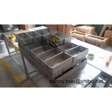 High Purity Tzm Molybdenum Box, Tzm Alloy Boat, Tzm Tray with Best Price