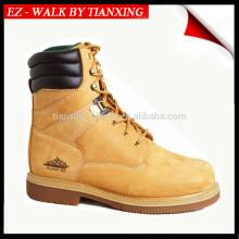 Chaussures de sécurité en cuir véritable et bout en acier