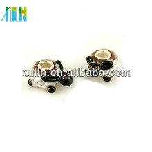 perles uniques de bracelet d'animal de verre de murano à vendre