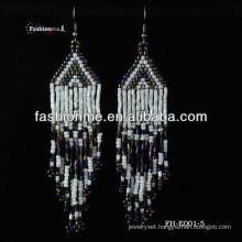 handmade beaded latest fashion earrings
