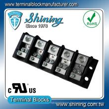 TGP-085-05JSC 600V 85A 5 pôles Bloc de terminaison du cadre de distribution principal