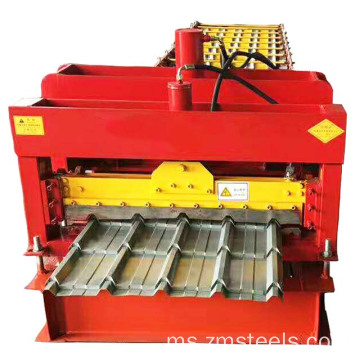 Steel Glazed Roof Tile Metal Sheet Making Machine