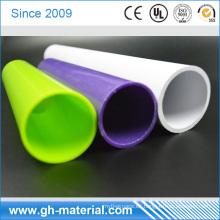 Tubo plástico del tubo del PVC del diámetro resistente al fuego blanco de 18m m para la protección del cable