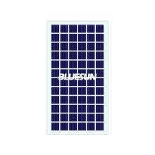 Panneau solaire en verre transparent BIPV poly personnalisé par film mince de Bluesun