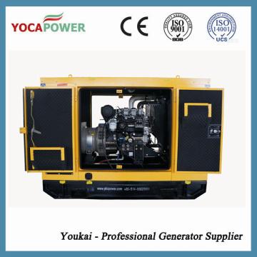 Дизельный генератор мощностью 15кВА / 12кВ с 4-ходовым дизельным двигателем