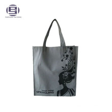 Printed non woven loop handle polypropylene bag