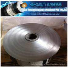 54 Um Односторонняя клейкая фольга из алюминиевой фольги Используется в коаксиальном кабеле